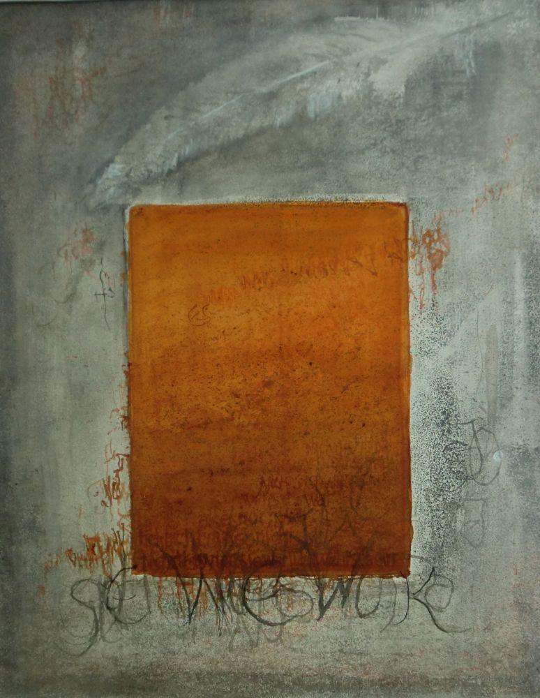 """Lettern"" (4) Aquarell 51x39cm"